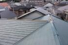 台風被害棟包み飛散1