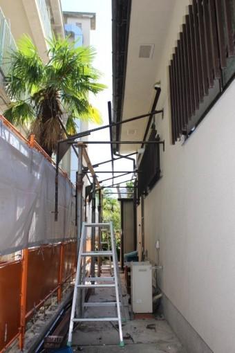 テラス屋根交換4