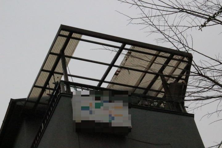 テラス屋根波板1