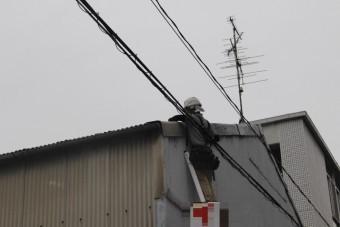 スレート屋根ケラバ修理4