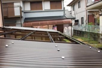 テラス屋根修理下見2
