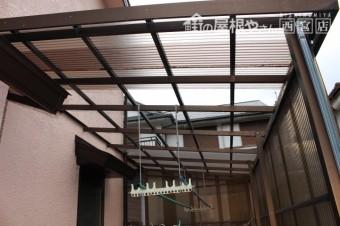 テラス屋根修理下見1