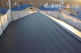 屋根工事施工中5