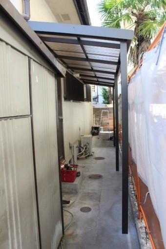 テラス屋根交換8