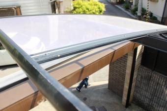 カーポート屋根修理下見3