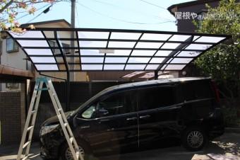 カーポート屋根修理下見1