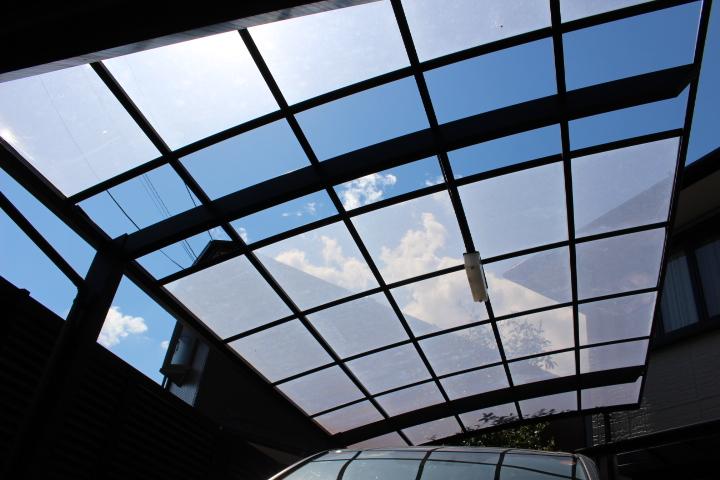 カーポート屋根修理2
