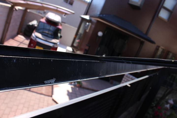 カーポート屋根修理下見4