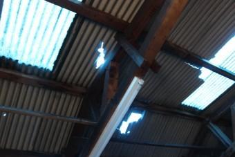 ガレージ屋根修理5
