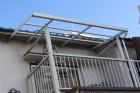 尼崎市テラス屋根修理1