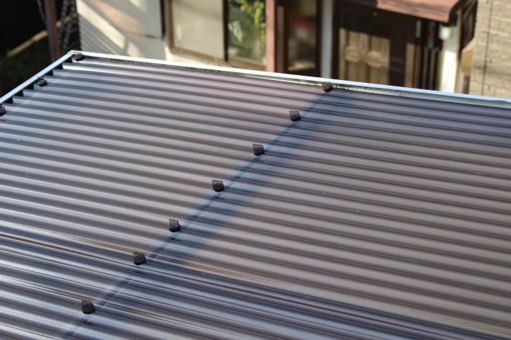 波板テラス屋根修理