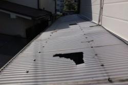 テラス屋根波板交換1
