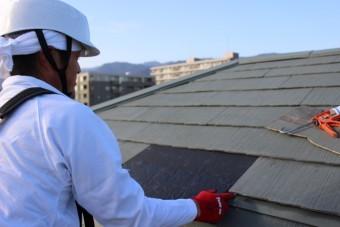 西宮市屋根カラーベスト修理5