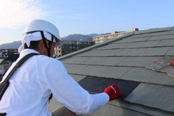 西宮市屋根カラーベスト修理6