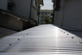 テラス屋根波板交換2