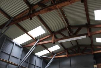 ガレージ屋根修理13
