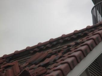 瓦台風被害