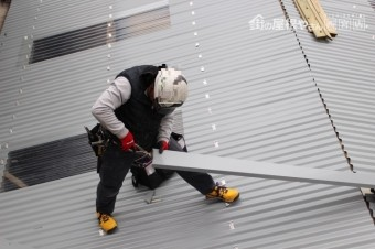 ガレージ屋根修理9