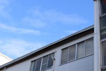 西宮市工場屋根修理2