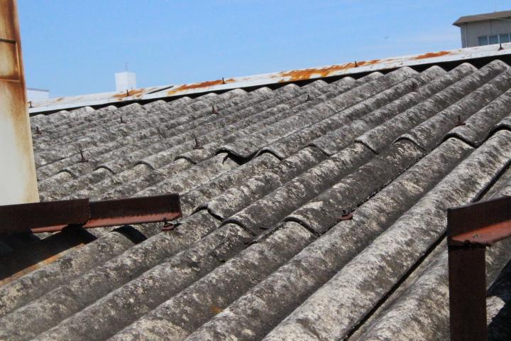作業場屋根調査1