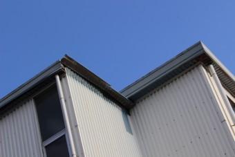 西宮市工場屋根修理1
