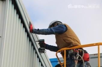 西宮市工場屋根修理6