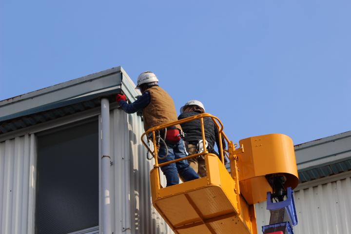 西宮市工場屋根修理7