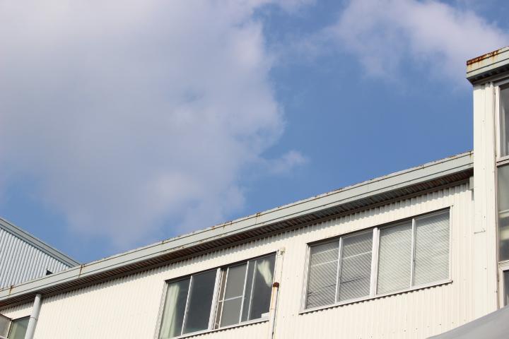 西宮市工場屋根修理8