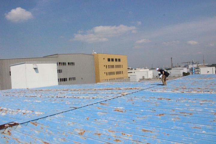 工場雨漏り3