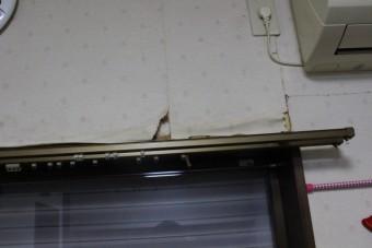 川西市壁雨漏り2