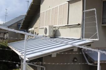 下屋根修理3