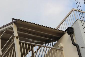 屋上防水&雨樋修理2