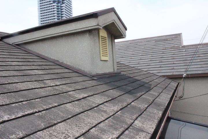 屋根カバー工事下見2