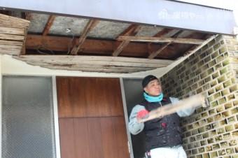 芦屋軒天修理3