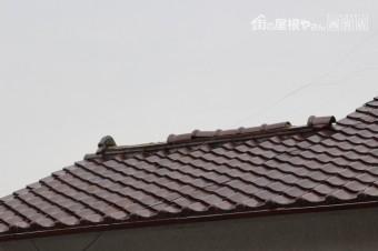 宝塚市棟瓦修理下見2