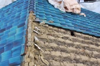 伊丹市屋根葺替え工事1