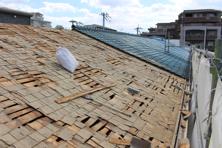 伊丹市屋根葺替え工事8