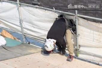 伊丹市屋根葺替え工事5