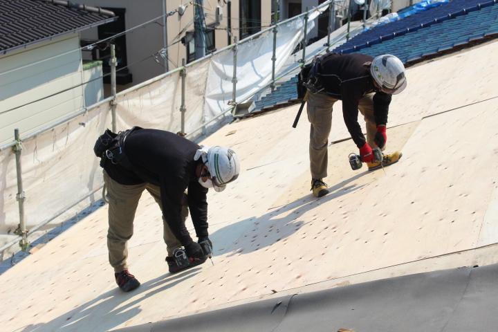 伊丹市屋根葺替え工事6