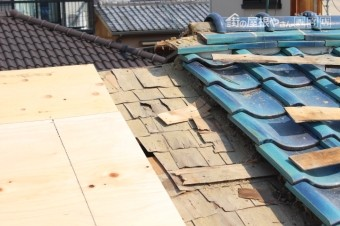 伊丹市屋根葺替え工事9