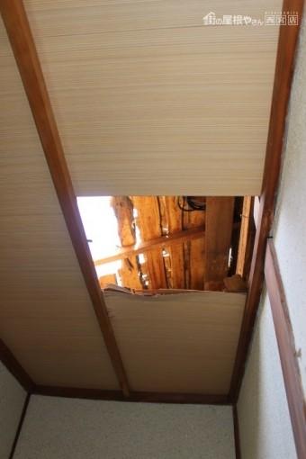雨漏り天井修理6