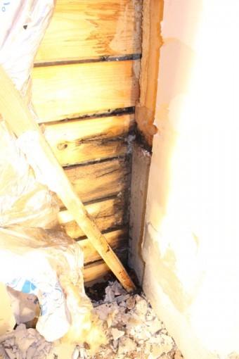 外壁雨漏り調査2