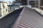 伊丹市屋根材張り作業9