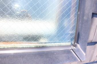 天窓雨漏り修理4
