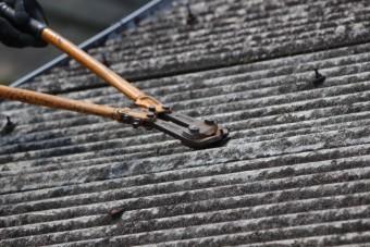 スレート波板屋根修理4