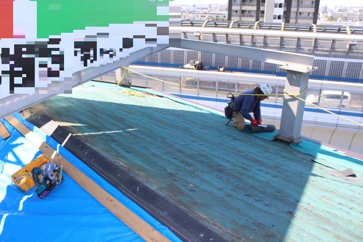 西宮市屋根カバー工事12