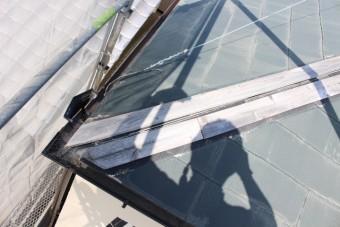尼崎市屋根棟包み修理1