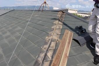 尼崎市屋根棟包み修理3
