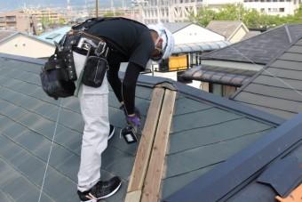 尼崎市屋根棟包み修理4