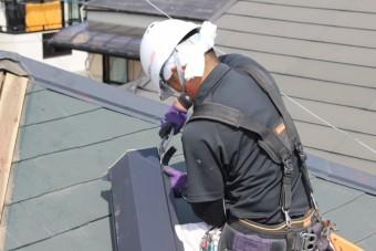尼崎市屋根棟包み修理8